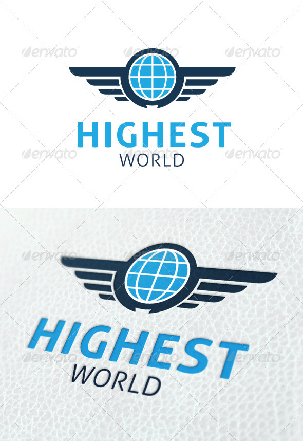 Highest World - Symbols Logo Templates