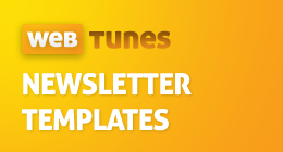 WebTunes Newsletter Templates