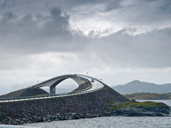 Atlantic Road - Stock Photo - Images