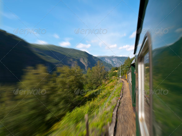 Flam Railway - Stock Photo - Images