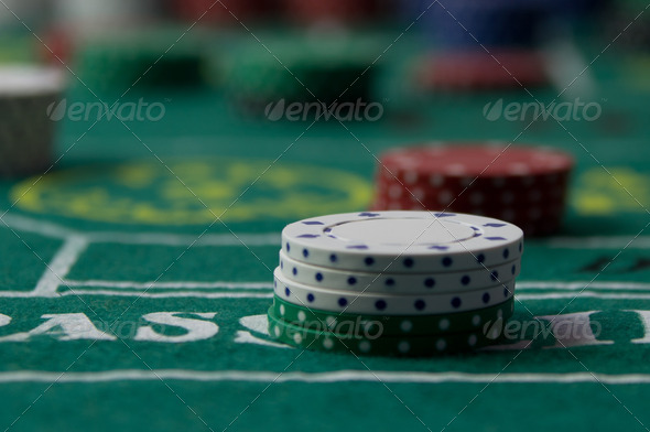 Craps Table - Stock Photo - Images