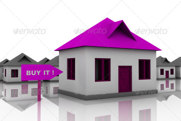 best house choice - Stock Photo - Images