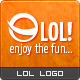LOL logo - GraphicRiver Item for Sale