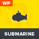 Submarine - Responsive Portfolio WordPress Theme - ThemeForest Item for Sale