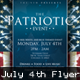 Patriotic 4th Of July Flyer Template - GraphicRiver Item for Sale