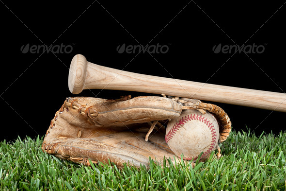 Baseball equipment - Stock Photo - Images