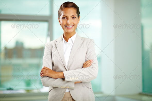 Pretty businesswoman - Stock Photo - Images