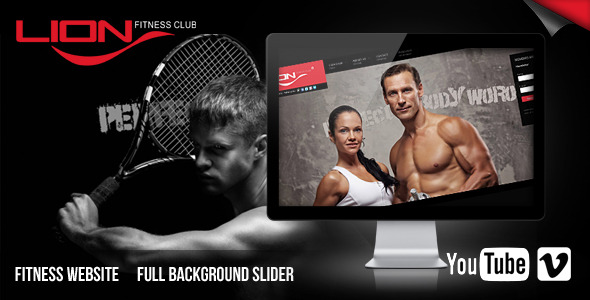 Lion Fitness Club Website