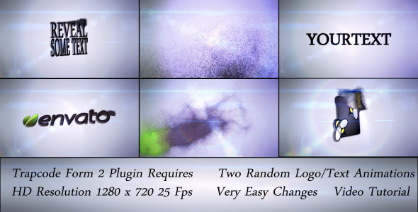 VideoHive Form Logo Reveal 2 Versions 2613052