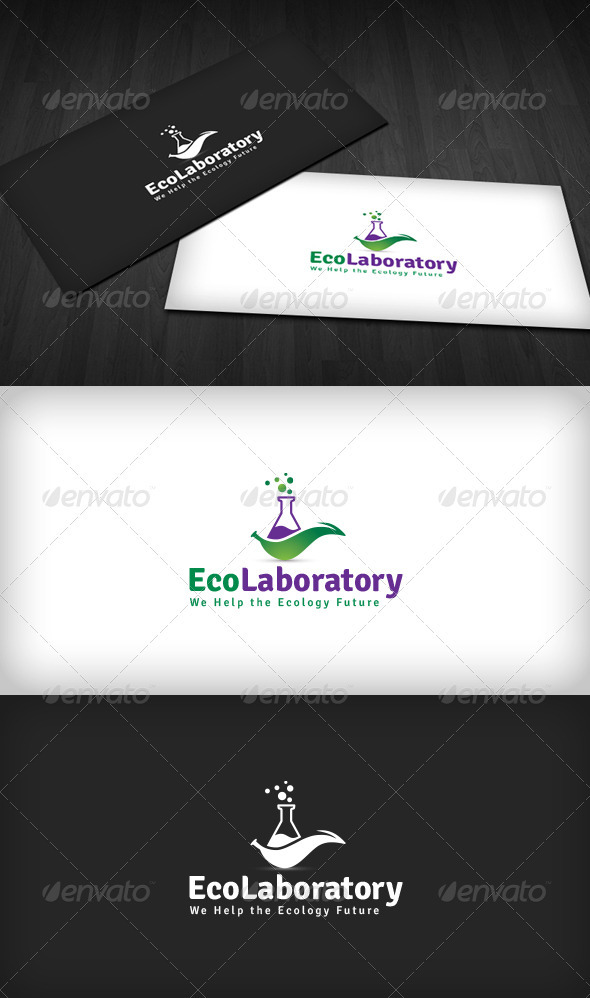 Eco Laboratory Logo - Nature Logo Templates