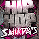 Hip Hop Saturdays Flyer - GraphicRiver Item for Sale