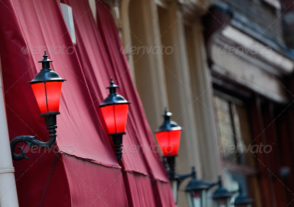 The Red Light District in Amsterdam - Stock Photo - Images