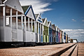 English Summer Beach Huts - PhotoDune Item for Sale