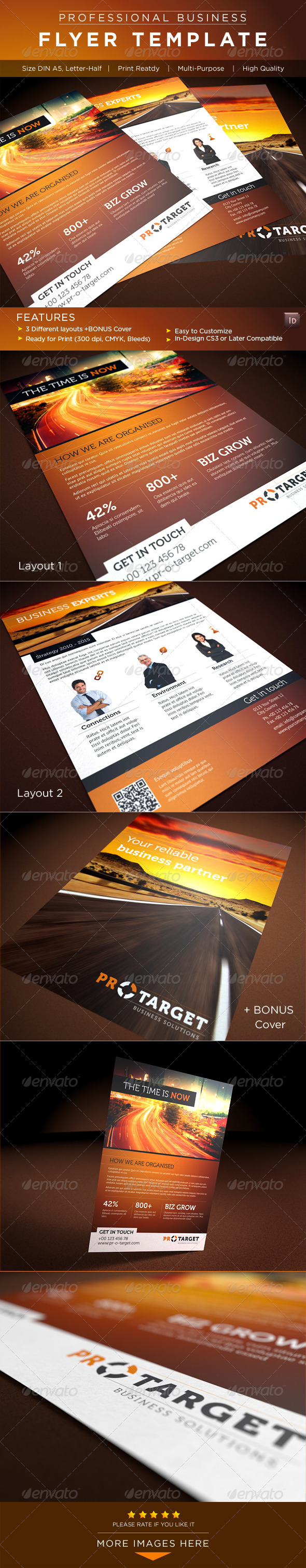 GraphicRiver Corporate Flyer AD Template 2616412