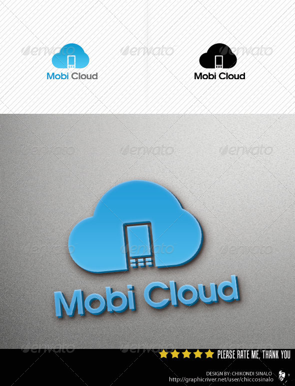 Mobi Cloud Template - Abstract Logo Templates