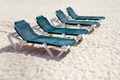 Green Beach Chairs - PhotoDune Item for Sale