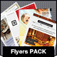 Flyers PACK 4 in 1 - GraphicRiver Item for Sale