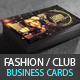 Creative Fashion Photographer Business Card PSD - GraphicRiver Item for Sale