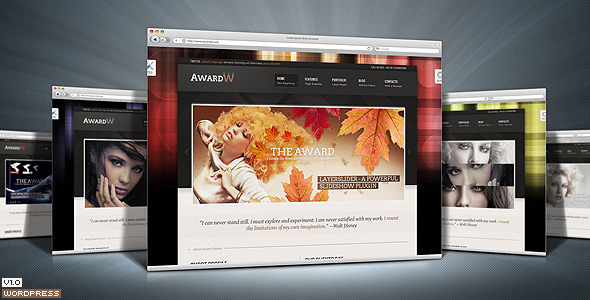 Award Premium Wordpress Theme 21 in 1 - Preview image