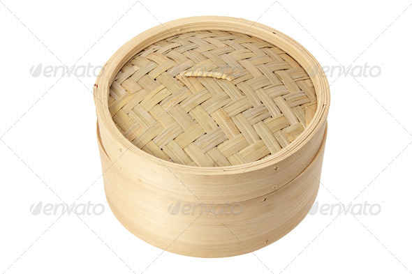 Bamboo Steamer - Stock Photo - Images