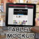 Tablet Mock-up - GraphicRiver Item for Sale