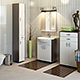 Bathroom Furnitures Set from factory Oristo - 3DOcean Item for Sale