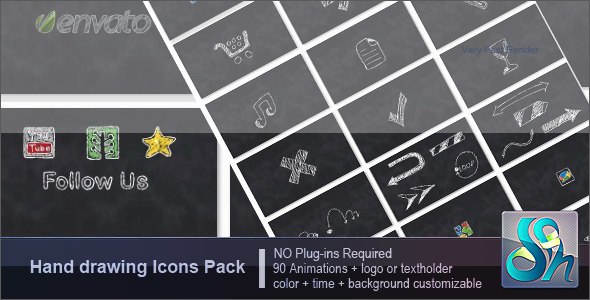 After Effects Project - VideoHive Hand Drawing Pack 2618567