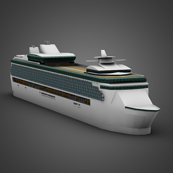 3DOcean Cruise Ship 2618955