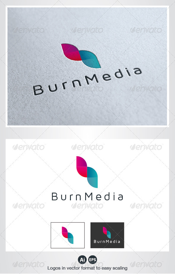 Burn Media Logo GraphicRiver - Logo Templates -  Symbols 2619663
