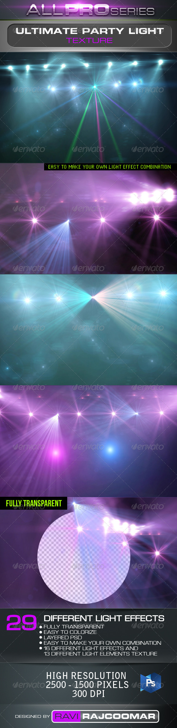 Ulitimate Party Light Effects - Abstract Illustrations