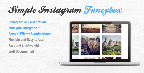 Simple Instagram Fancybox - CodeCanyon Item for Sale