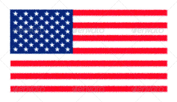 Flag of the USA - Stock Photo - Images