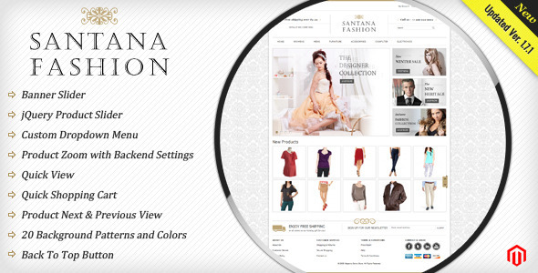 ThemeForest Santana Fashion Store 1623351