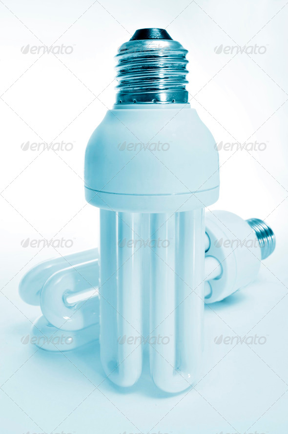energy-saving lights - Stock Photo - Images