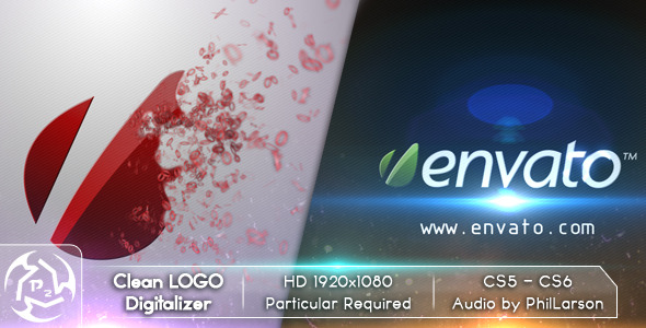 After Effects Project - VideoHive Clean Logo Digitalizer 2622080
