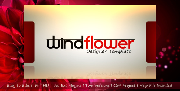 After Effects Project - VideoHive Windflower Designer Template 2622276
