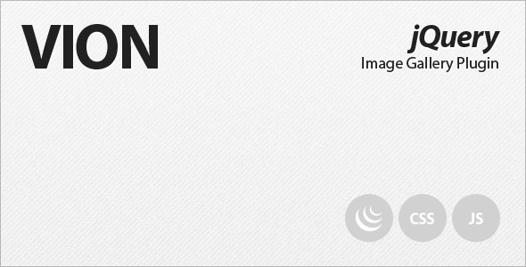 CodeCanyon VION jQuery Image Gallery Plugin 283285