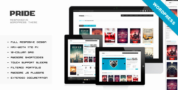 PRIDE - Responsive WordPress Theme