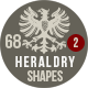 68 Photoshop Heraldry Shapes 2 - GraphicRiver Item for Sale