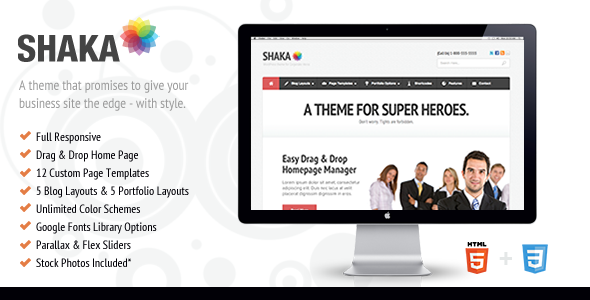 Shaka - Theme For Corporate Superheroes