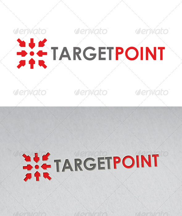 GraphicRiver Target Point Logo 2623026