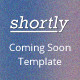 Shortly Coming Soon Template - ThemeForest Item for Sale