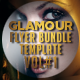 Glamour Flyer Template Bundle Vol1 - 2 in 1 - GraphicRiver Item for Sale