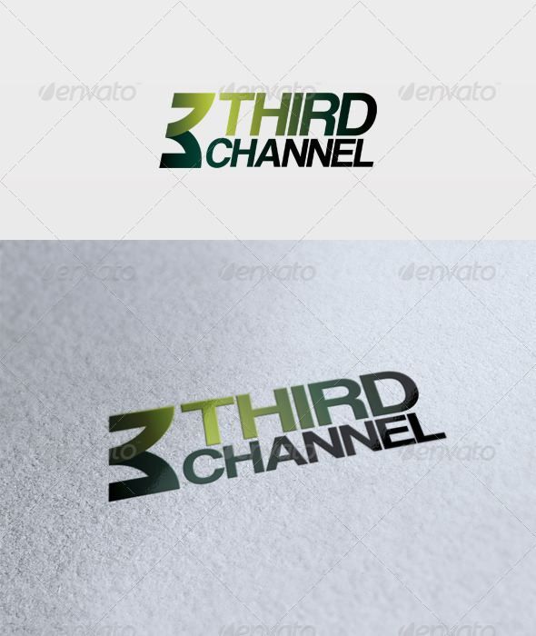 Third Channel Logo - Numbers Logo Templates