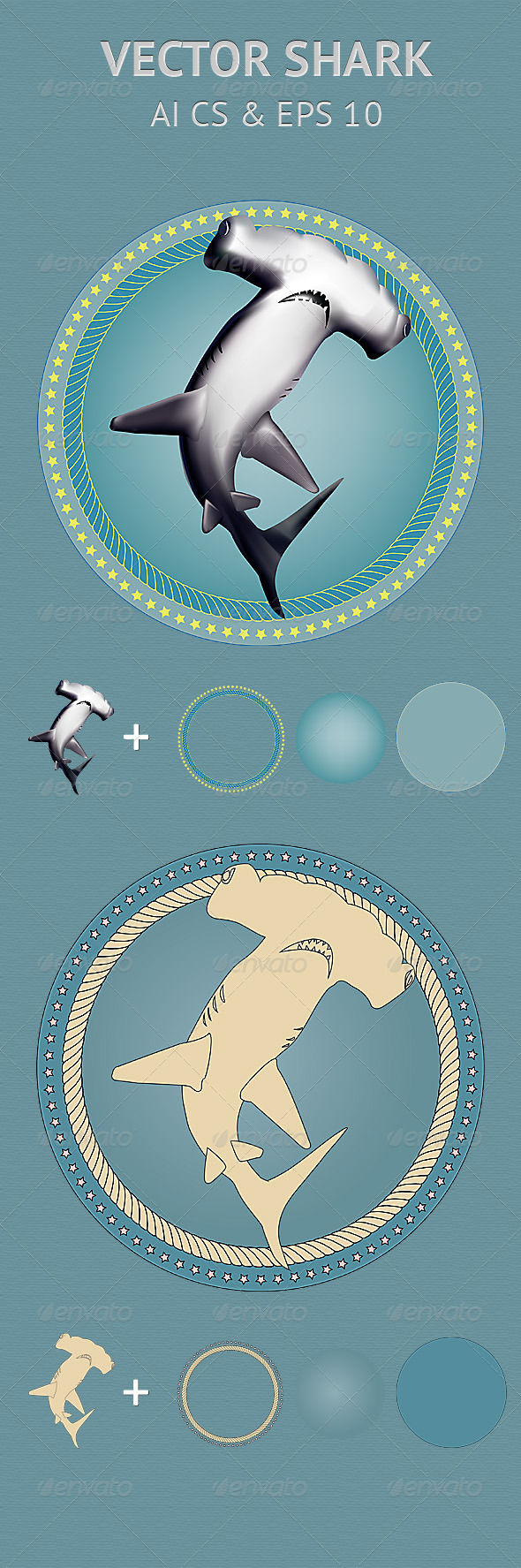 GraphicRiver Vector Shark 2627647