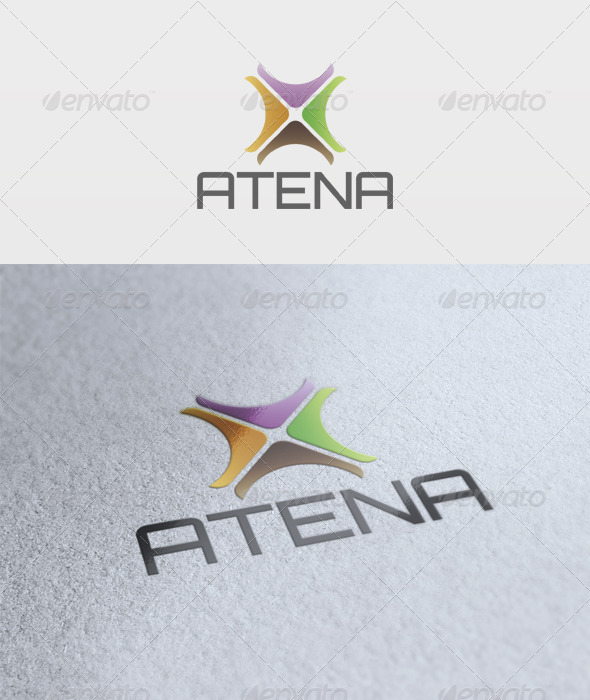 GraphicRiver Atena Logo 2628274