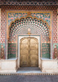 Ornate door in City Palace in Jaipur, India - PhotoDune Item for Sale