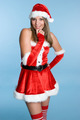 Christmas Santa Woman - PhotoDune Item for Sale