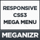 Meganizr - Responsive CSS3 Mega Menu - CodeCanyon Item for Sale
