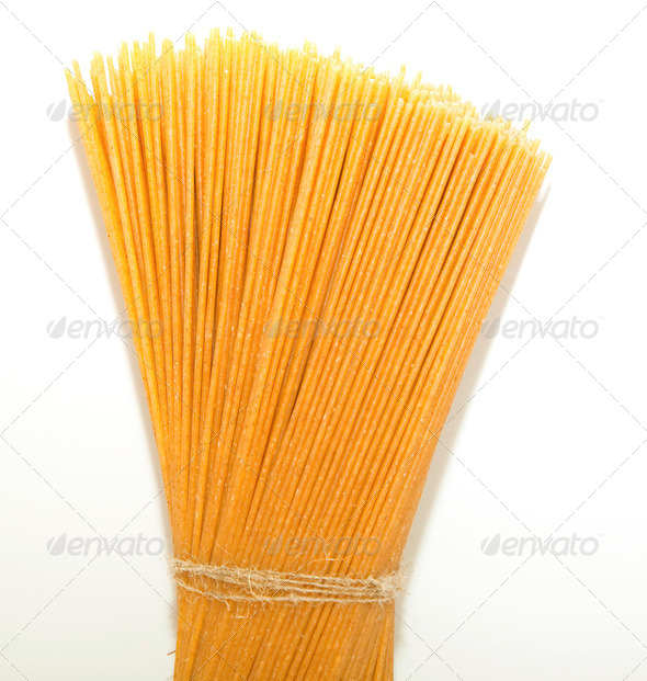 Bunch of spaghetti - Stock Photo - Images